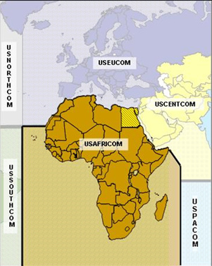 Focus On US Africa Command Small Wars Journal - Map of us and africa