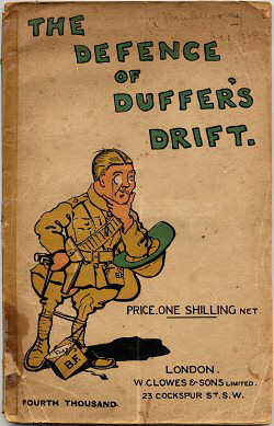 the defence of duffers drift Published: (1926) the defence of duffer's drift : a few experiences in the field  defence for detached posts which may prove useful in our next war / by: swinton .