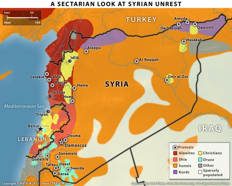 Yi Wei Lim, yiweilim, syria, syrian revolution, syrian uprising, sectarianism, syrian sectarian map, syrian sectarian divide, syrian civil war, alawite