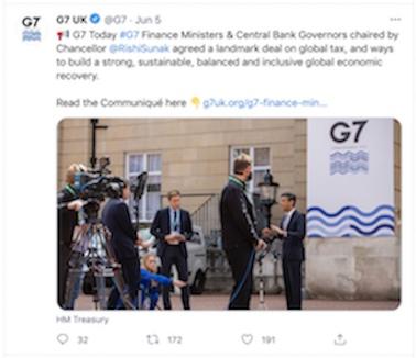 G7 Tweet