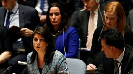 US Amb. to UN Haley